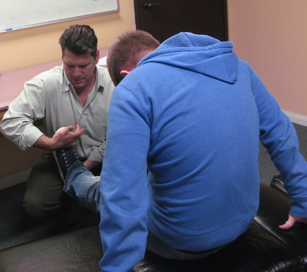 Dr. Shad Groves and Patient. Patients - Chiropractic Neurology